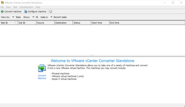 vCenter Converter Standalone - 1
