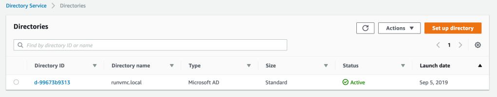 AWS Directory