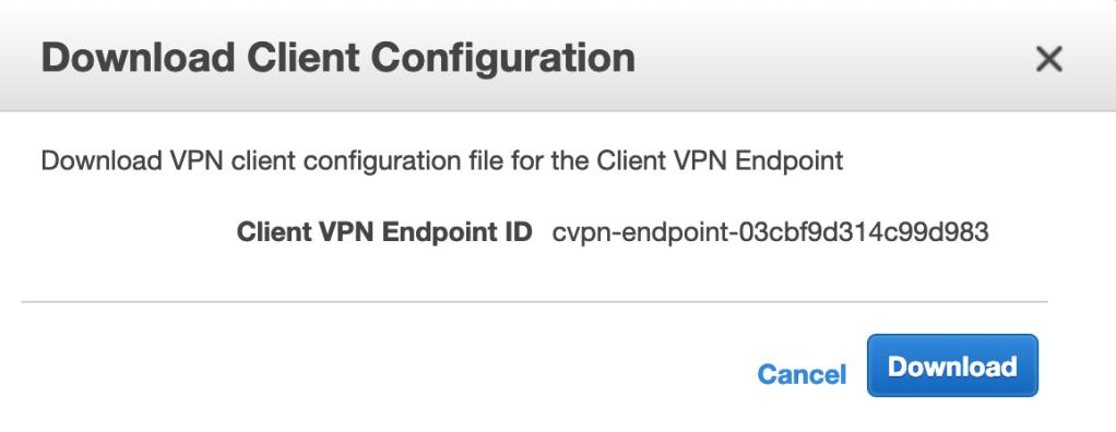 OpenVPN Client Configuration